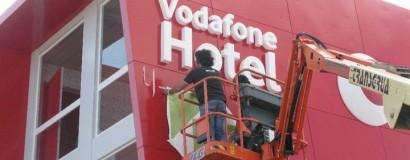 Decoração Vodafone Rock in Rio Lisboa