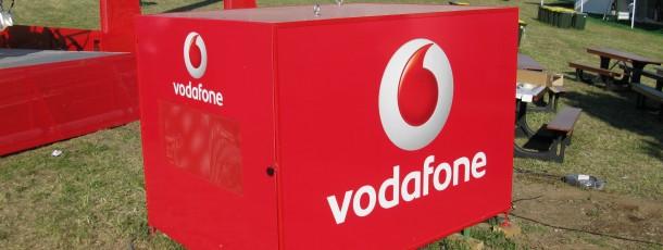 Decoração Integral Stand Vodafone Rock-in-Rio Lisboa