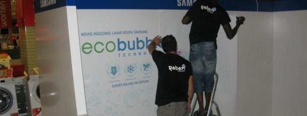 Produção Stand Samsung Worten Colombo