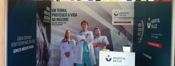 Decoração Hospital de Luz no Volvo Ocean Race