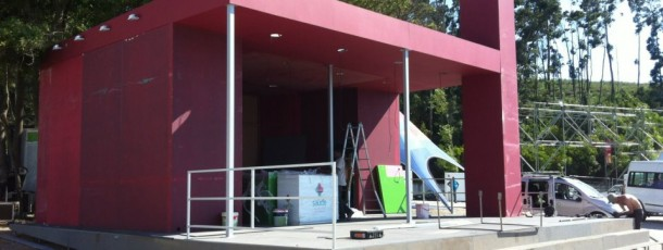 Produção Stand SCML Festival Marés Vivas